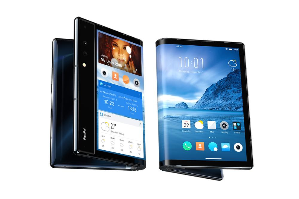 image FlexPai, le premier smartphone pliable fonctionnel au monde