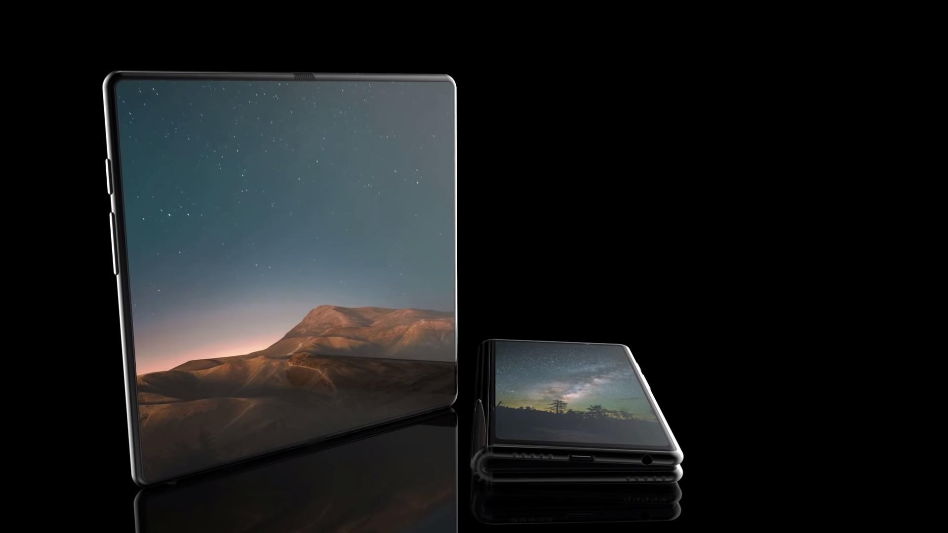 image Samsung Galaxy F – On en sait maintenant un peu plus sur le portable pliable de Samsung
